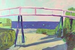 "Rowayton Arts Center instructor Lenny Moskowitz will lead a ""Painting en Plein Air"" workshop on Aug. 1. Pictured is Moskowitz's ""Sconset Trestle Bridge."""