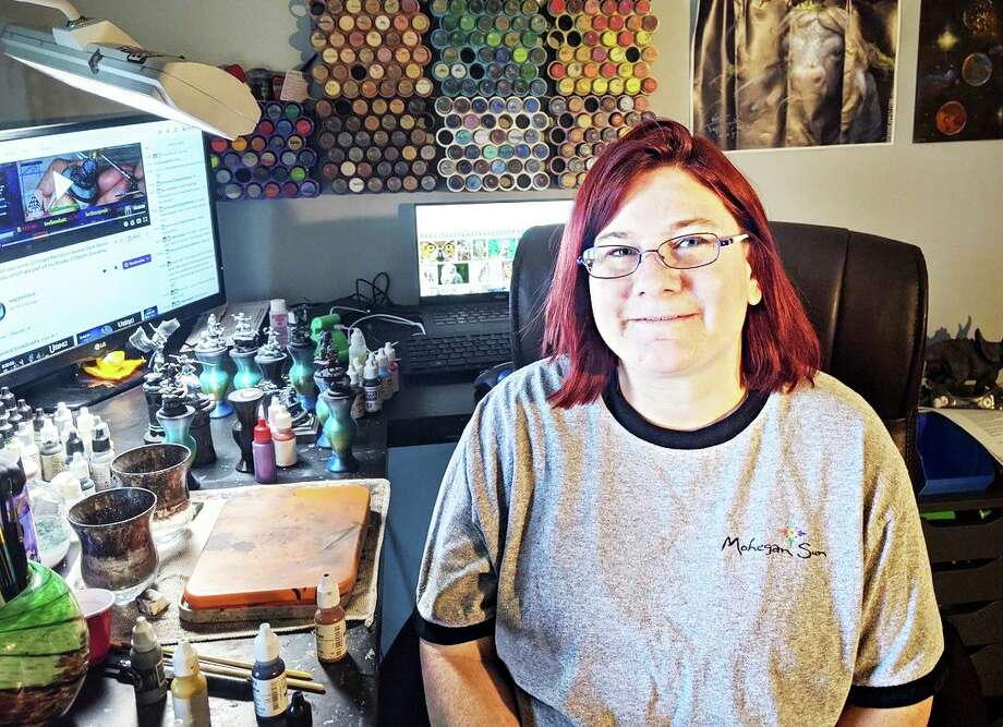 Cromwell artist and business owner Jen Tallman is a member of the Cromwell Creative District. Photo: Contributed Photo