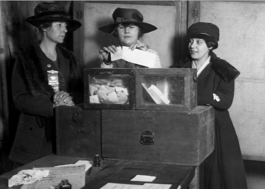 1920: Women gain the right to vote In the summer of 1920, the 19th Amendment, which gave women the right to vote, was ratified. The amendment was ratified by Congress on June 4, 1919, but wasn't agreed upon by the necessary three-fourths of the states until Aug. 18, 1920, when Tennessee agreed to adopt the addition. By Aug. 26, 1920, Secretary of State Bainbridge Colby certified the ratification, and women were allowed at the polls three months later in November.  [Pictured: Three women suffragists cast votes.] Photo: Everett Historical // Shutterstock