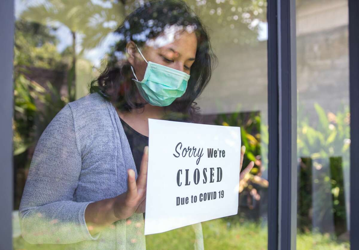 FILE-- A new report by the National Restaurant Association said that more than 100,000 restaurants have closed throughout the U.S. since March.