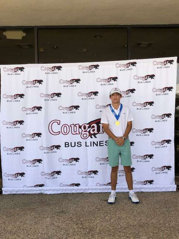 Harold Devally had the top round of the day shooting a 74 to win the boys' 16-18 division. Photo: Courtesy Of The LJGA