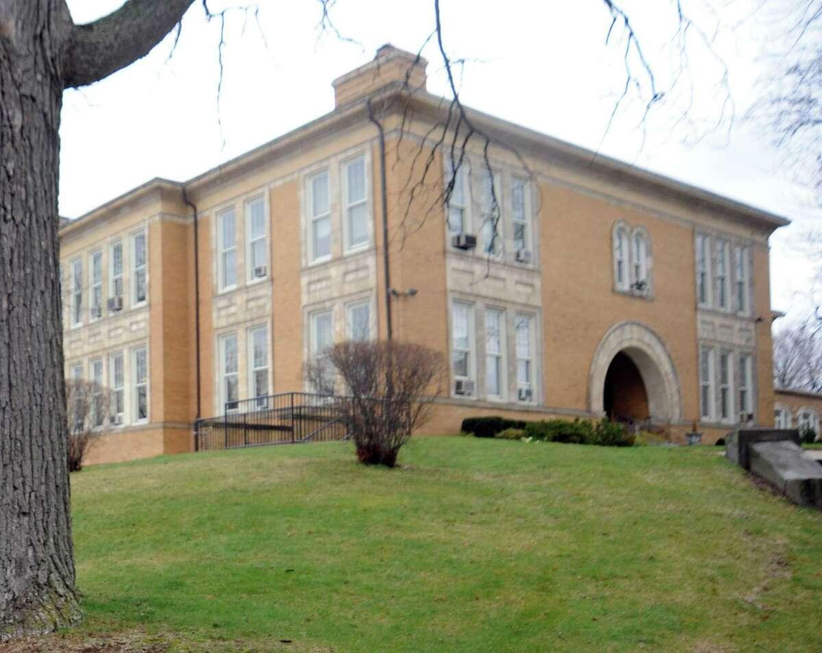 The school board's Havemeyer Building on Greenwich Avenue.