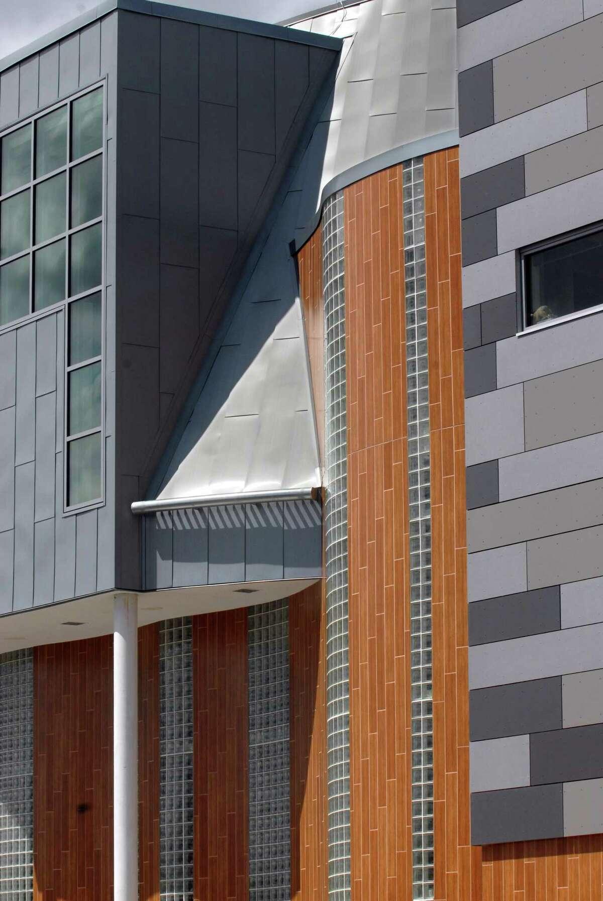 The Metropolitan Business Academy magnet school in New Haven.