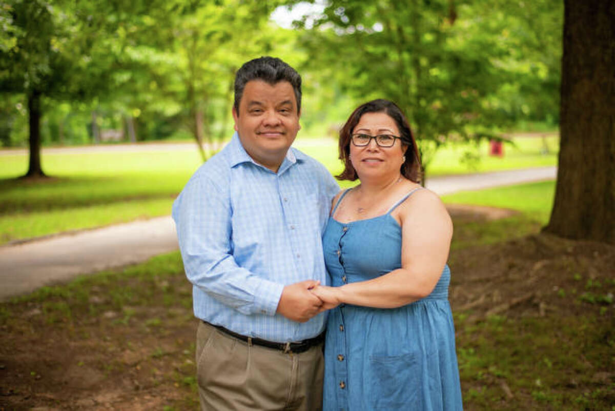 The Rev. Alberto Ramirez and his wife, Juanita.
