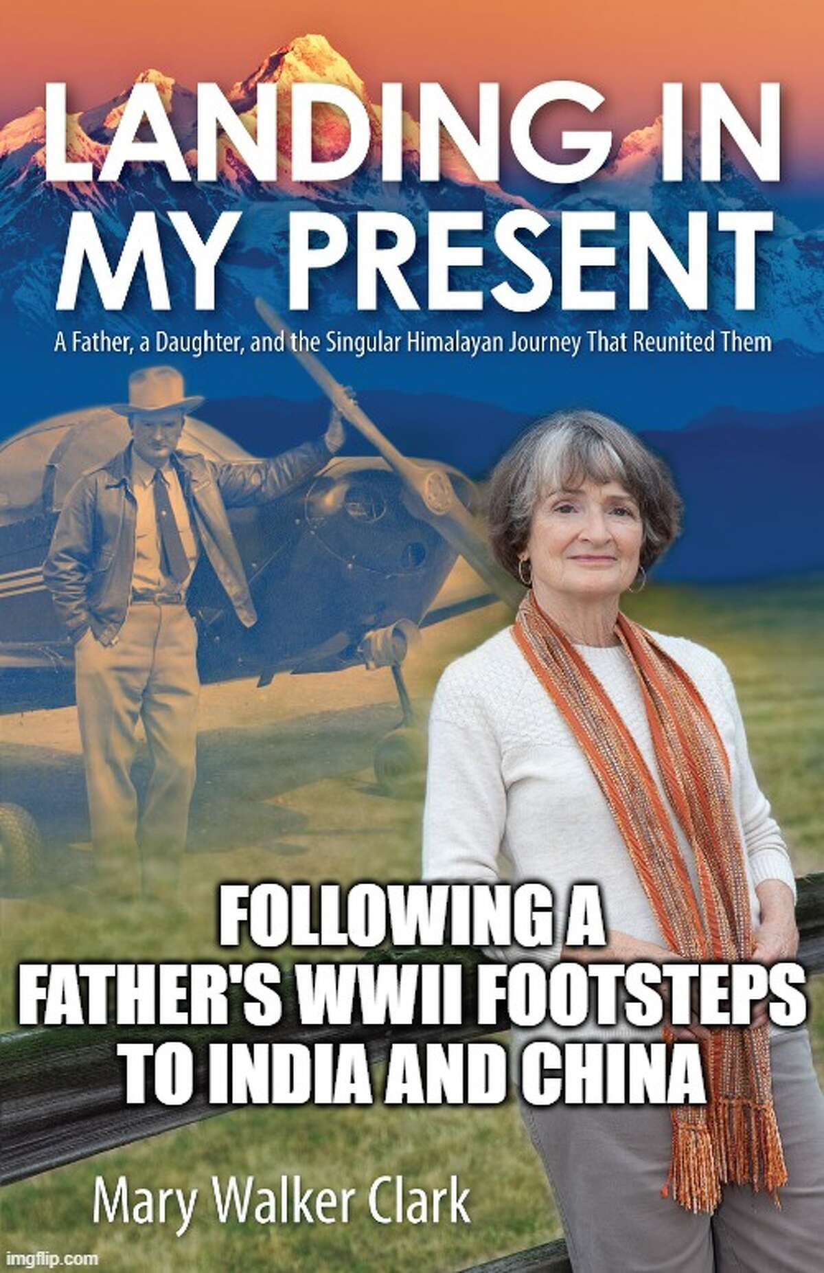 Mary Walker Clark, formerly of Plainview, released a book this week chronicling her father's, former U.S. Army Airforce 2nd Lieutenant Charles Walker, life as a soldier during World War II.