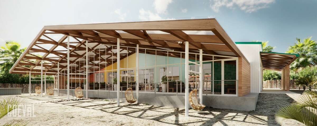 The 5,000 square-foot space, by Dallas' Coeval Studio, will offer a warm feel thanks to a coastal casual ambiance, wood tones and ample natural light. The restaurant will also feature a 2,250 square-foot covered patio.