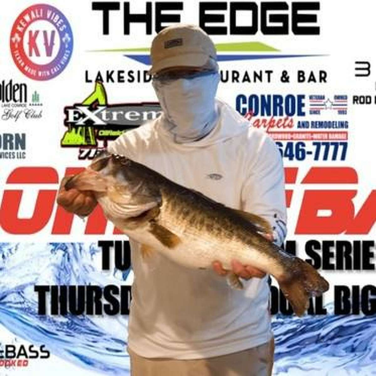 John Northcutt (pictured) and Jack Northcutt came in second place in the CONROEBASS Tuesday Night tournament with a stringer weight of 11.23 pounds.