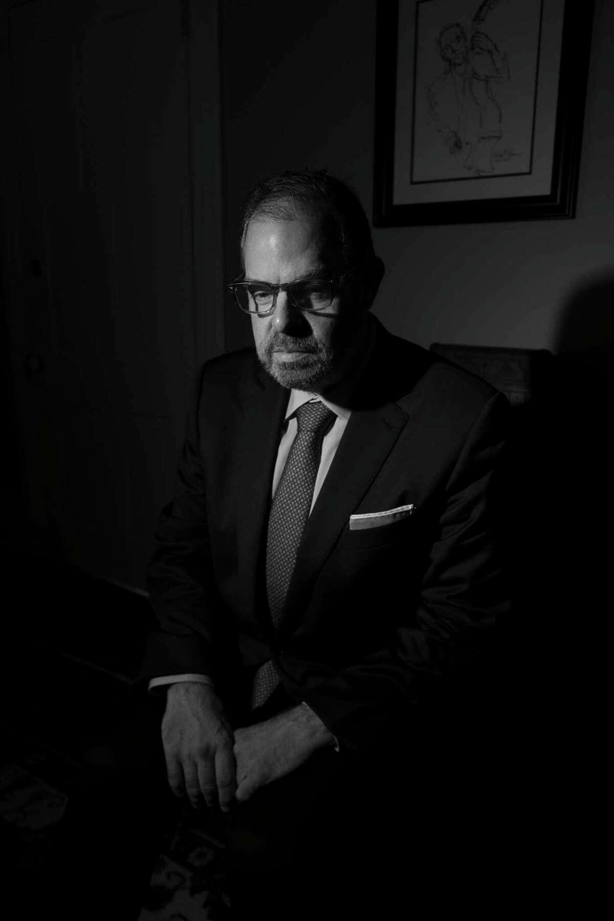 Bill Charlap at the Deer Head Inn, an unlikely jazz enclave in Delaware Water Gap, Pa., on July 18, 2020. More than four months after his last public performance, Charlap played at a storied Pennsylvania club, a glimpse into what may be the new normal for musicians. (Jonno Rattman/The New York Times)