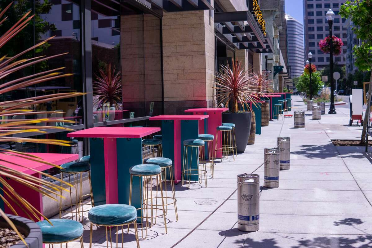 Modern Times Beer is reopening for outdoor dining in Oakland this Wednesday, thanks to a partnership with alaMar Kitchen & Bar.
