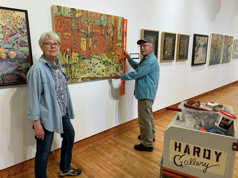 "Susan and Phil Joseph's exhibition of new paintings, called ""Joseph Works,"" will be on display in Hardy Hall at the Ramsdell Regional Center for the Arts from July 24 through Sept. 25. (Courtesy photo)"