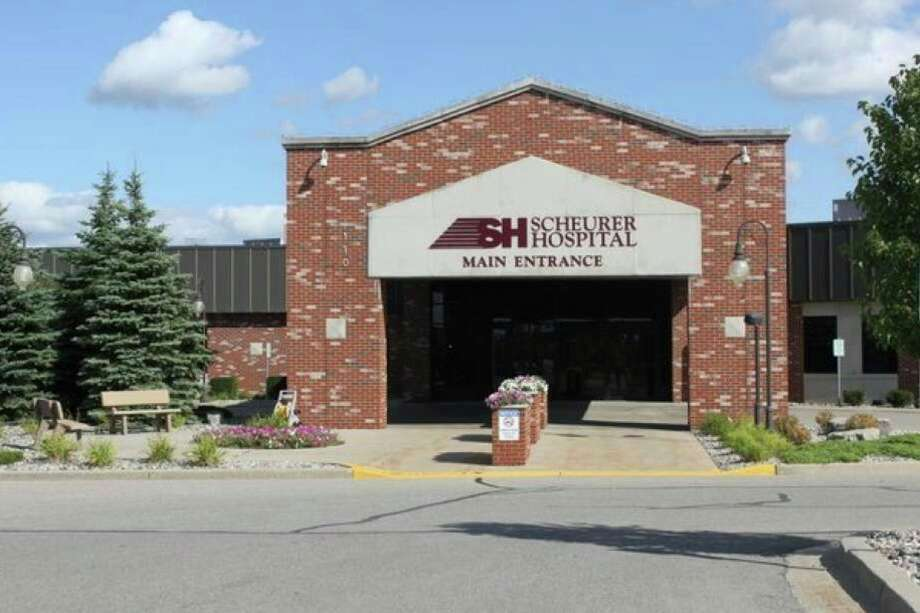 Scheurer Hospital in Pigeon. The healthcare provider received the most funds and retained the most jobs through the Paycheck Protection Program out of any company in Huron County. (Tribune File Photo)