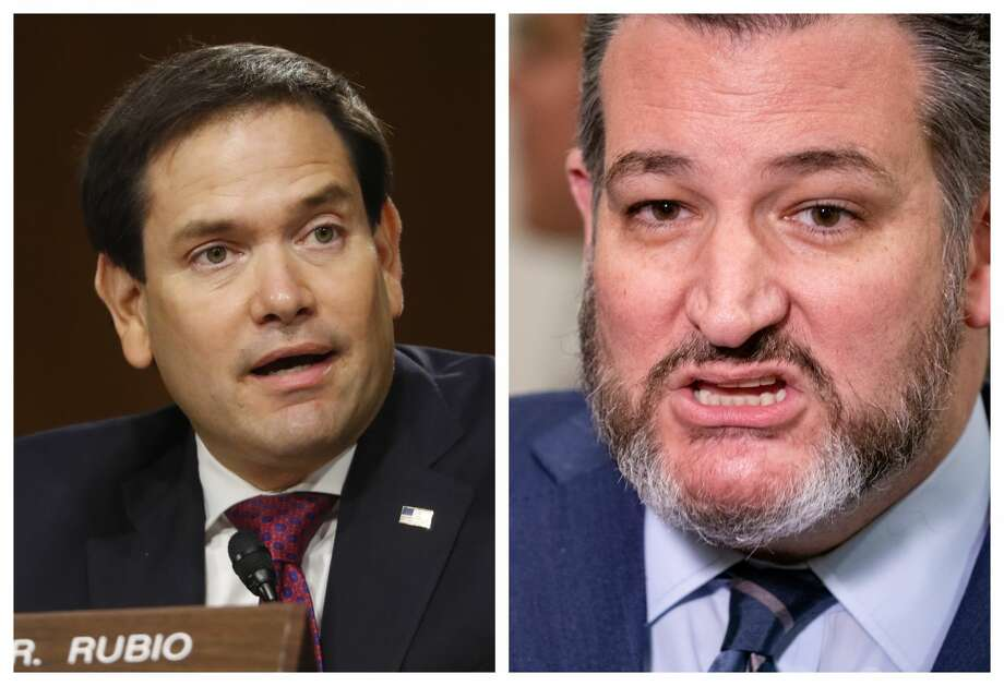 Senators Marco Rubio (FL) and Ted Cruz (TX) sounded off on the closure of Houston's Chinese Consulate on Wednesday. Photo: Getty Images
