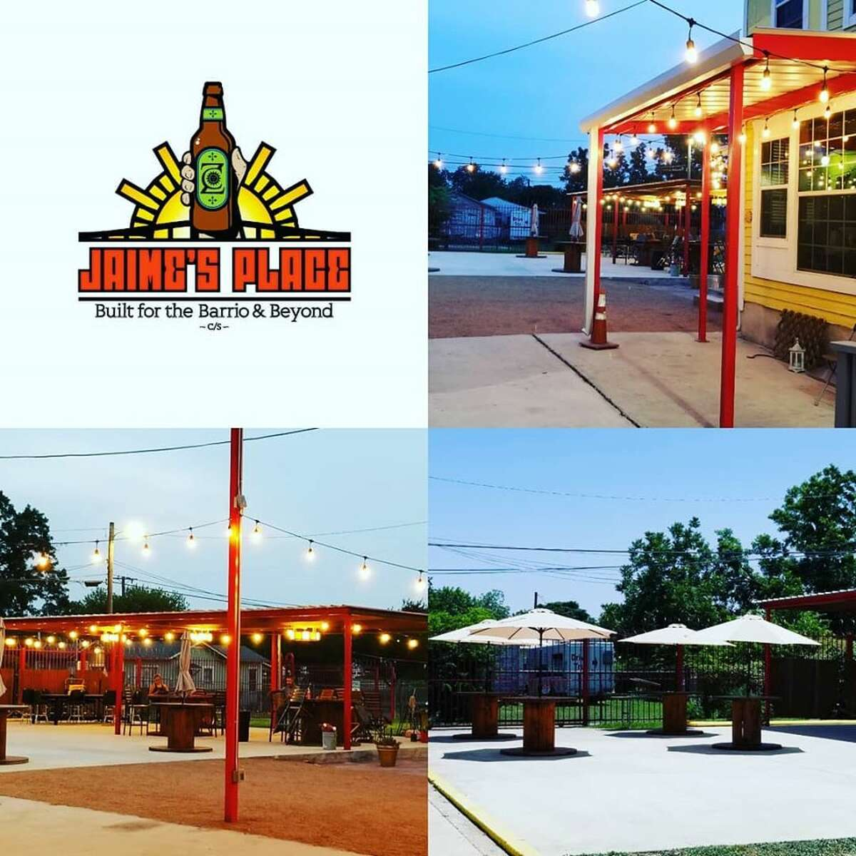 Jaime's Place will serve beer and wine as well as welcome local food trucks and entertainment to over 3,500 square feet with plenty of space for social distancing. San Antonio band Los Nahuatlatos will provide live music for the opening celebration.