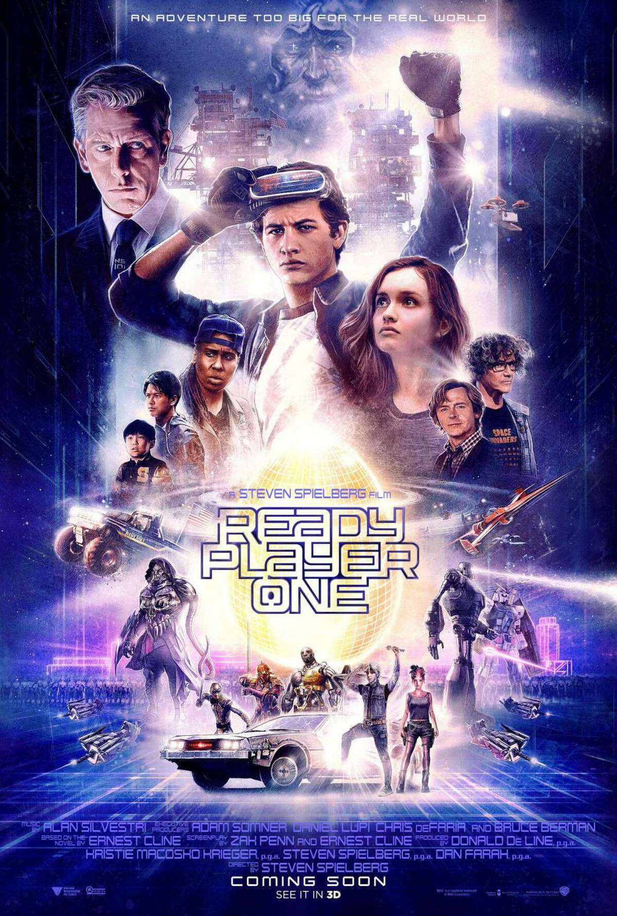 Spielberg's latest theatrical outing is 2018's Ready Player One, based on the best-selling sci-fi novel by Ernest Cline. Set in the near-enough future, the movie tells the story of a world that lives in their Alternate Reality game called the Oasis, which has consumed every aspect of modern life.