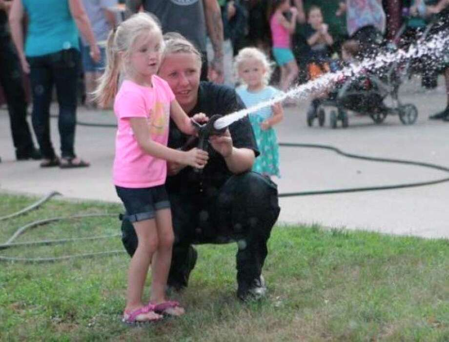 The annual National Night Out event hosted by the Big Rapids Department of Public Safety is among many local events canceled this year due to the coronavirus pandemic. (Pioneer file photo)