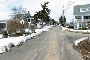 Homes in the Mulberry Point section of Guilford photographed on March 6, 2019, are having difficulties with well water. A water main extension project aims to alleviate that.