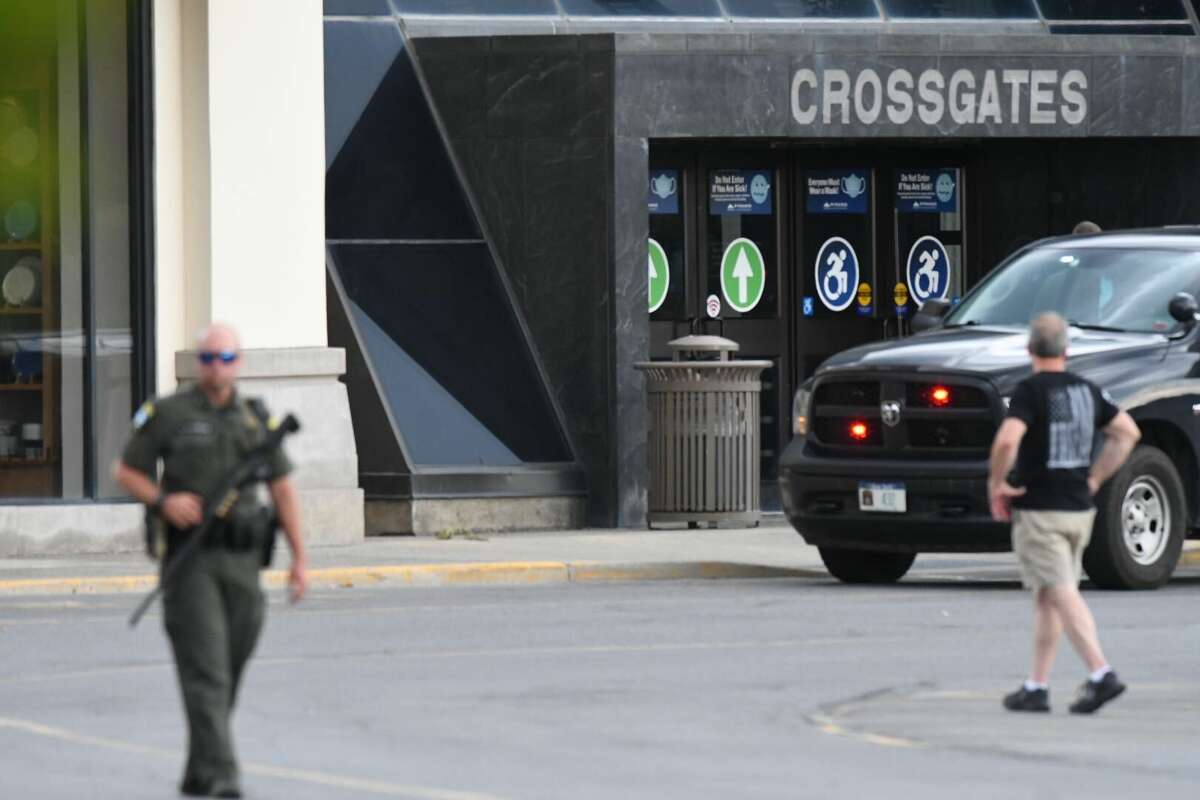 Police responded to reports that gunfire erupted inside Crossgates Mall on Wednesday, July 22.