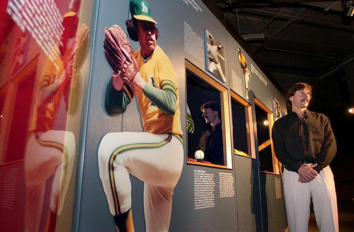 Special to the Chronicle photo by Stacey Lauren -- Dennis Eckersley at the National Baseball Hall of Fame in Cooperstown, NY on Monday May 10, 2004. Eckersley will be inducted in July, 2004. For Ron Kroichick story. Ran on: 07-11-2004 Fremont kid: He grew up a Giants fan and emulated Juan Marichals leg kick. Ran on: 07-11-2004 Fremont kid: He grew up a Giants fan and emulated Juan Marichals leg kick. Ran on: 07-11-2004 Fremont kid: He grew up a Giants fan and emulated Juan Marichals leg kick.