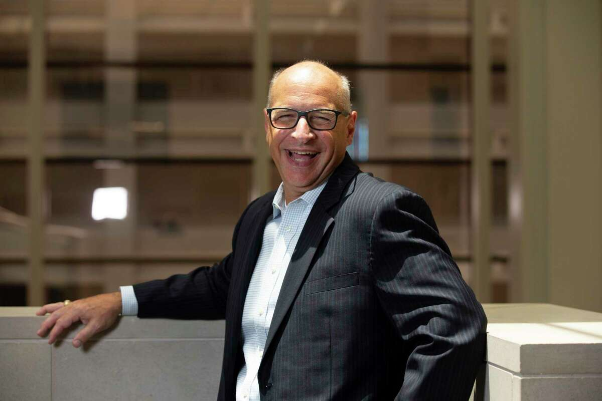Phil McDivitt, CEO of Ascend Performance Materials, poses for a photograph Wednesday, July 8, 2020, in Houston.