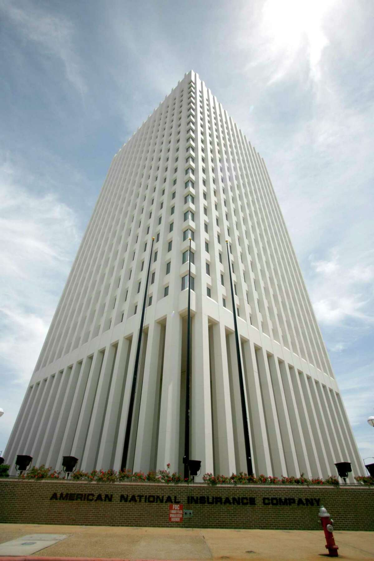 American National Insurance is headquartered at One Moody Plaza, in Galveston.