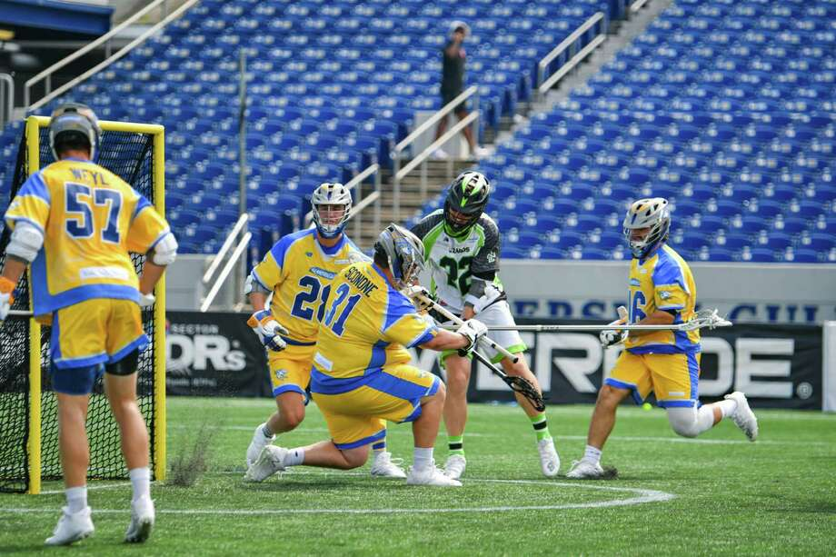 Sean Sconone of the Connecticut Hammerheads is Major League Lacrosse's Goalie of the Year for the second straight season. Photo: Contributed Photo / Major League Lacrosse