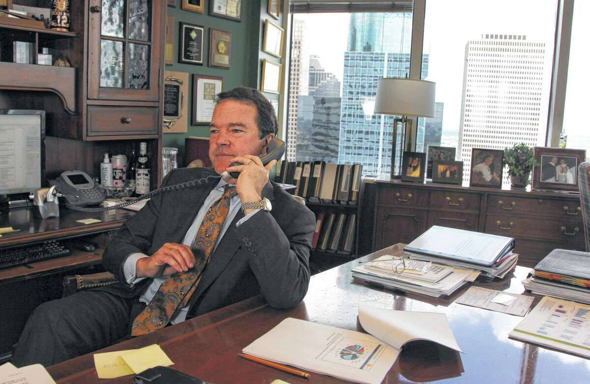 T. Mark Kelly is chairman of Vinson & Elkins, Houston's largest law firm.