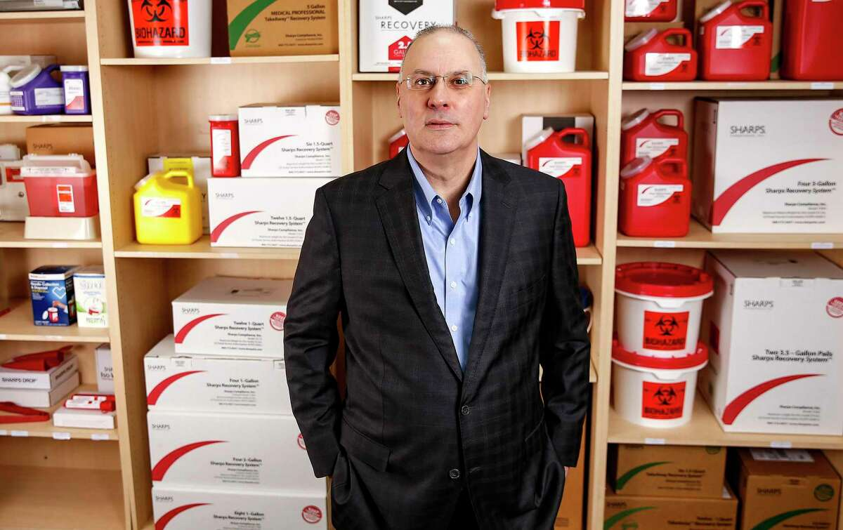 David Tusa is CEO of Sharps Compliance Corp., a medical waste collector.