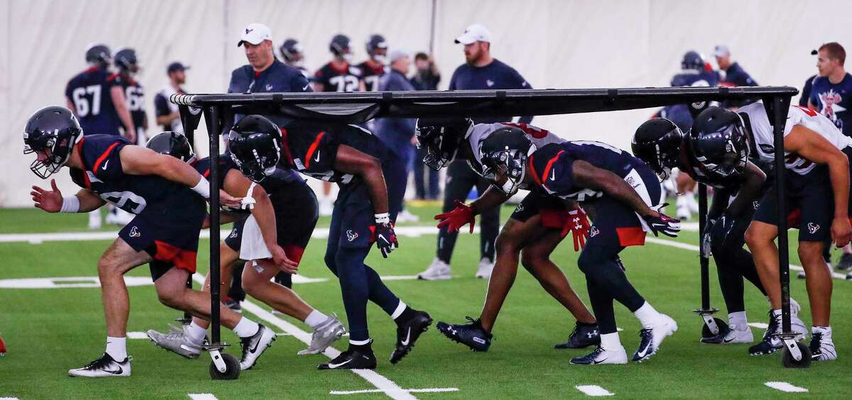 Last year, Texans rookies had minicamp to show coaches they belonged. Not this year.