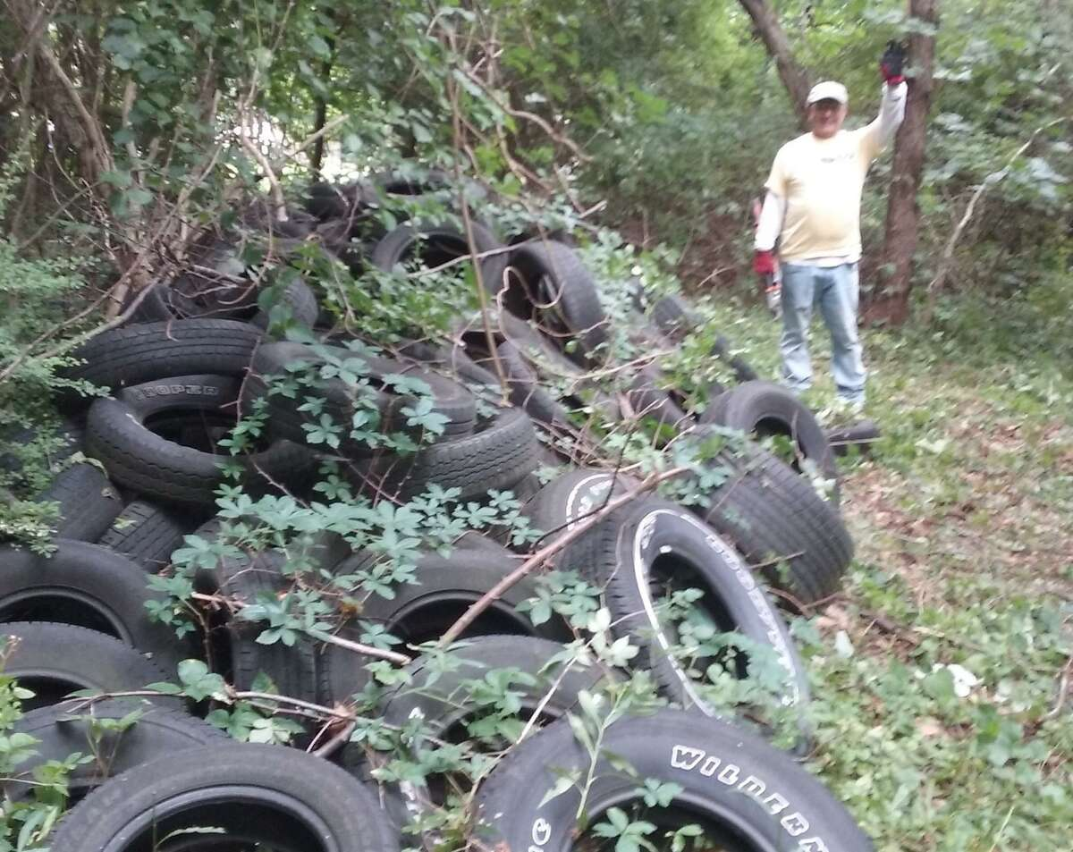 The Shelton Trails Committee will be holding a work party on Saturday, July 25, at Little Pond Trail to remove old tires.