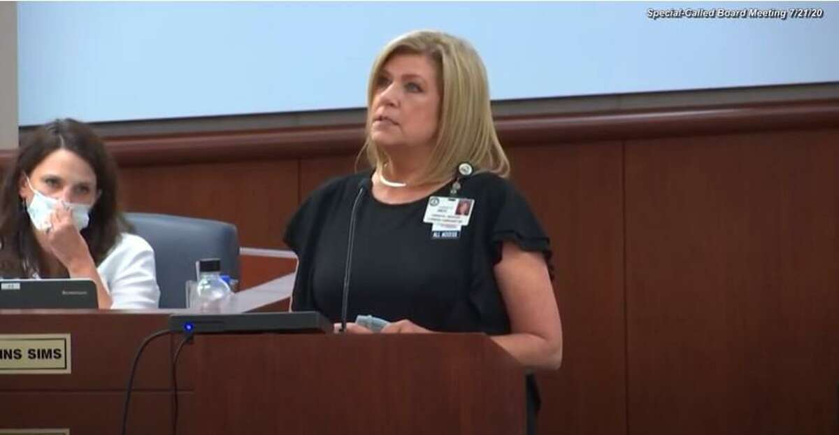 Superintendent Mark Henry along with staff members Marney Collins Sims, Teresa Hull, Karen Smith and Linda Macias, detailed how the district would handle in-person and virtual instruction this fall for Cy-Fair ISD students.