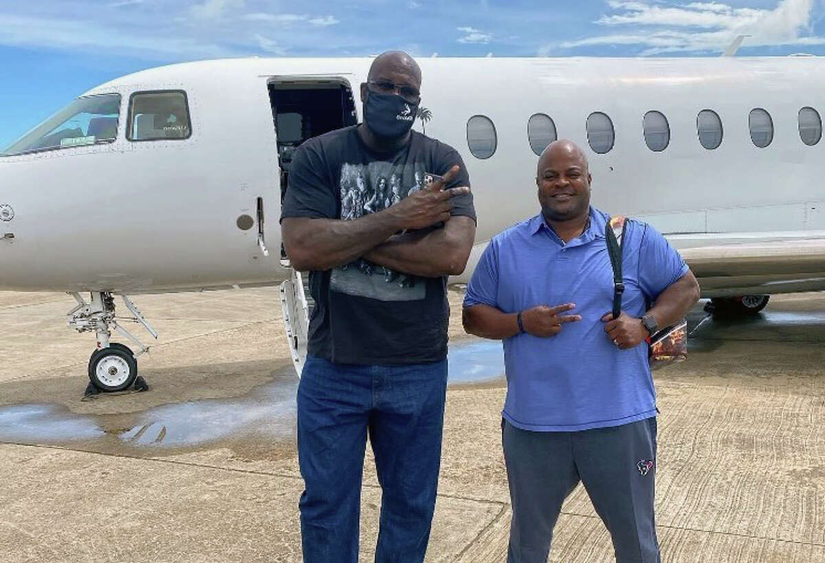 Shaquille O'Neal at Jax Grill on Shepherd on Monday, July 20, 2020.