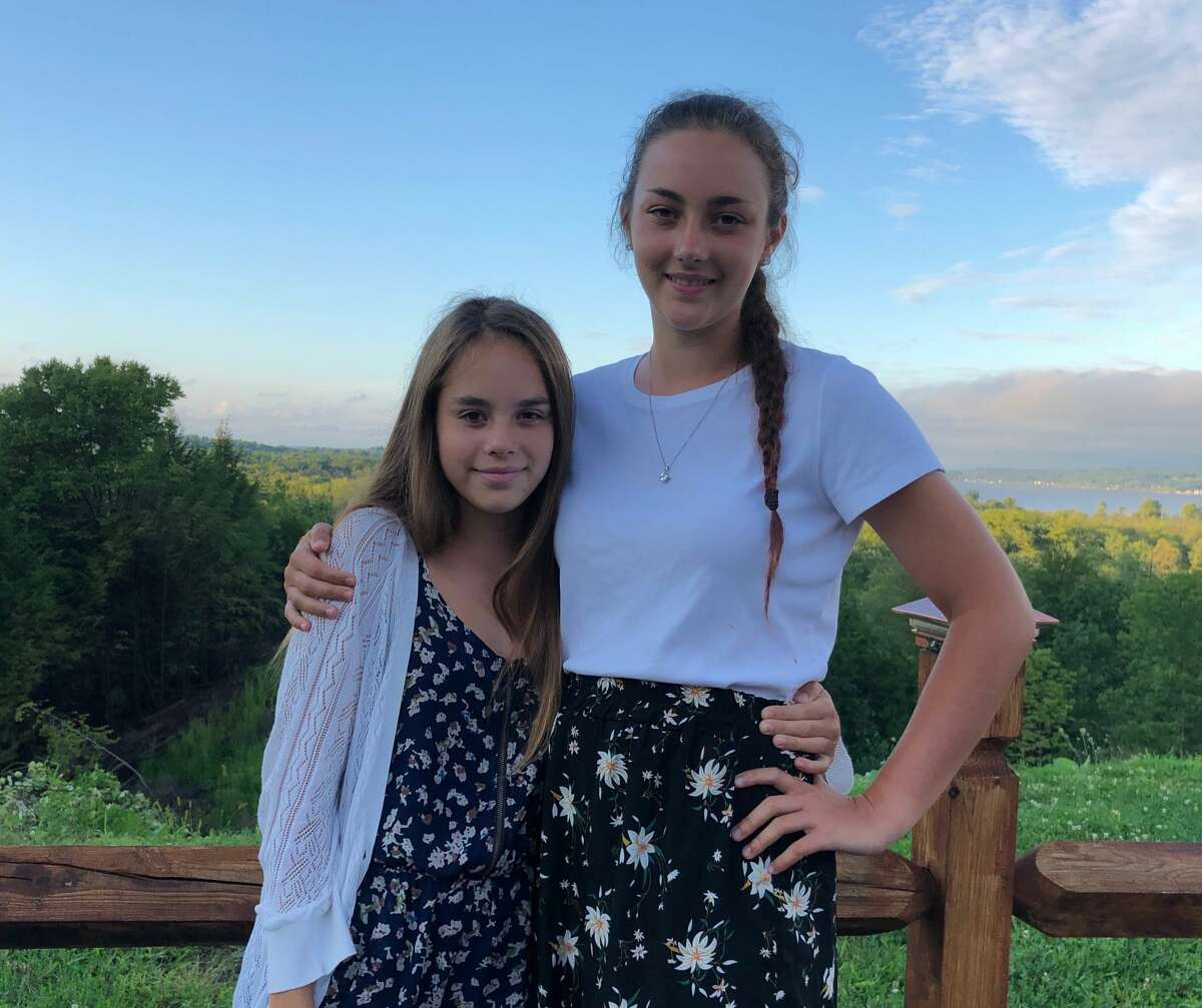 The mother of Saratoga Springs students Ava and Mandy Marcolin doesn't want her daughters to wear masks all day in school.