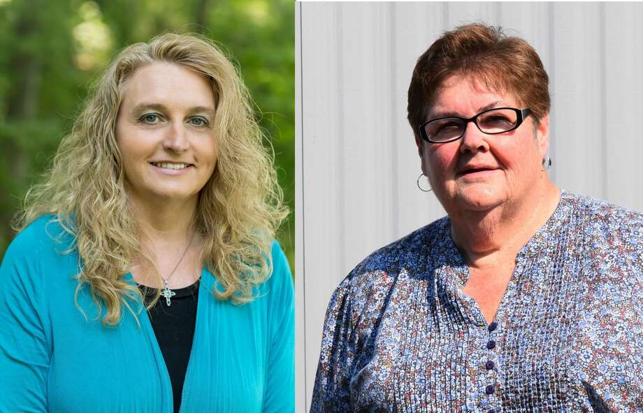 On Aug. 4, voters in Gilmore Township will choose between Norma Corwin and Robin Rommell to advance from the primary as the Democratic candidate on the November ballot for Gilmore Township treasurer. Photo: Submitted Photo