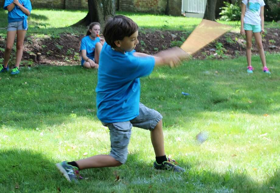 Keeler Tavern Museum & History Center is offering supervised, socially distanced, old-time outdoor games every Wednesday, from 1 to 4 p.m. through Aug. 26. Photo: Keeler Tavern Museum & History Center