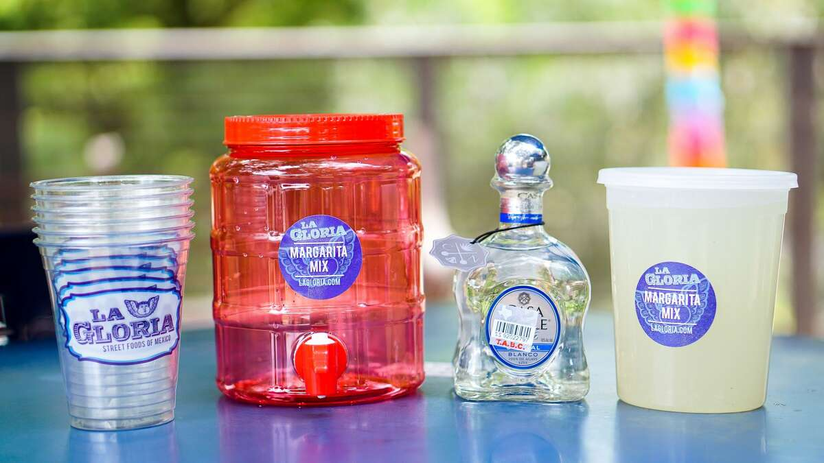 A standout option is the $30 Casa Noble Margarita Jug, which comes with six cups, 32-ounce margarita mix and salt.