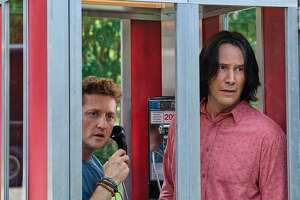 "Strange things are afoot again as Alex Winter and Keanu Reeves reunite in ""Bill & Ted Face the Music."""