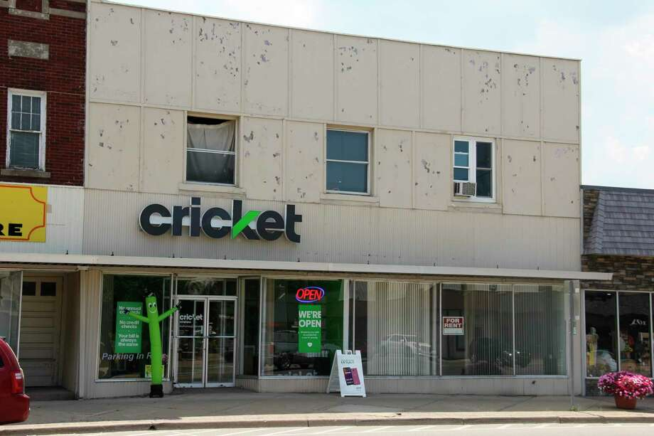 The new Cricket cell phone store in Bad Axe, which opened recently. (Robert Creenan/Huron Daily Tribune)