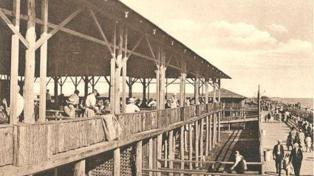 Hammonasset boardwalk, circa 1925