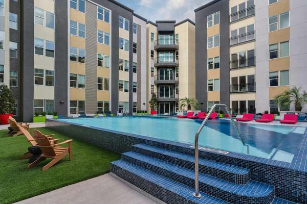 Tower 5040, a 147-unit, 405-bed student housing complex adjacent to the University of Houston's main campus, welcomed its first residents in July.