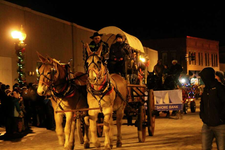 Manistee's Victorian Sleighbell Parade has been canceled for 2020, but other Old Christmas Weekend events may continue. (News Advocate file photo)