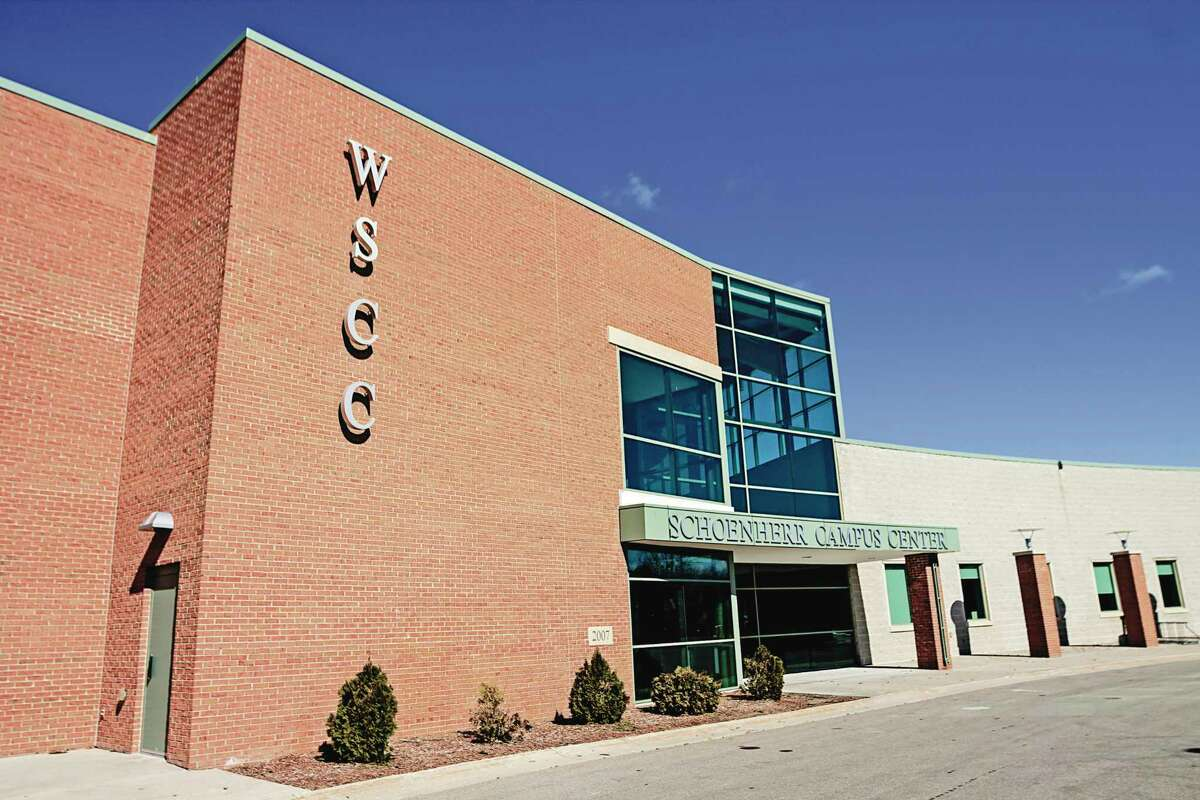 West Shore Community College's Office of Student Servicesis openfor in-person appointments; theWSCC Bookstore is also open. Both are locatedin the Schoenherr Campus Center. (File photo)