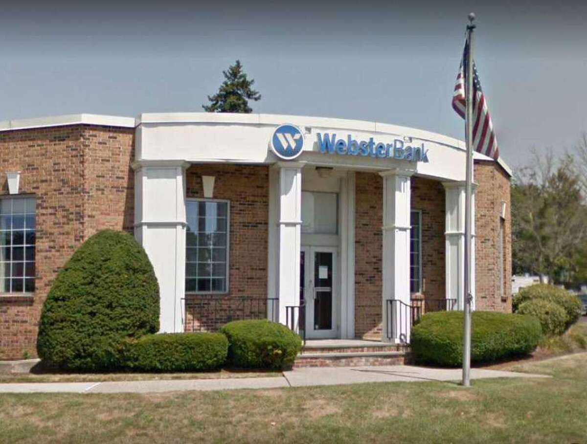 The Webster Bank branch at 247 Boston Post Road in Orange.