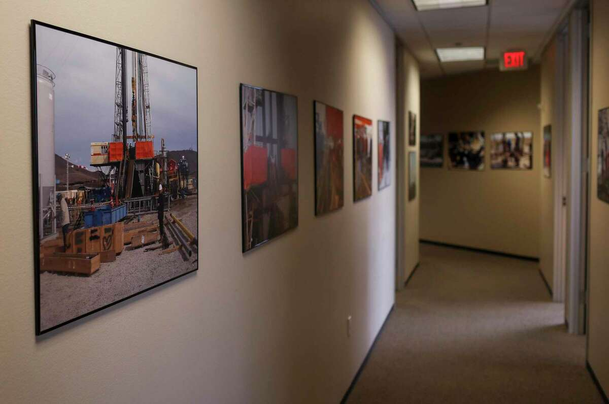 The offices of Frontera Resources, photographed Monday, July 6, 2020, in Houston.