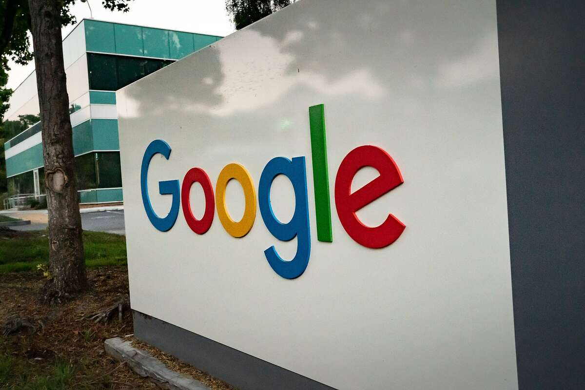 An near empty Googleplex, Google's campus, on Wednesday, July 15, 2020 in Mountain View, Calif.