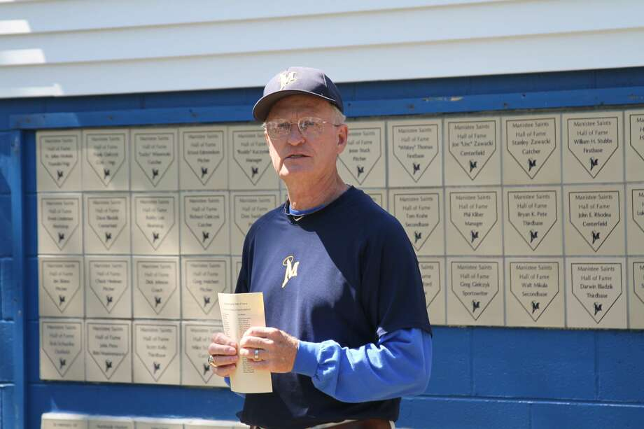 Phil Kliber has been part of the Manistee Saints baseball organization since 1961, first as a player, then as a longtime manager and currently as the team's general manager. The field at Rietz Park was recently named in his honor. Photo: News Advocate