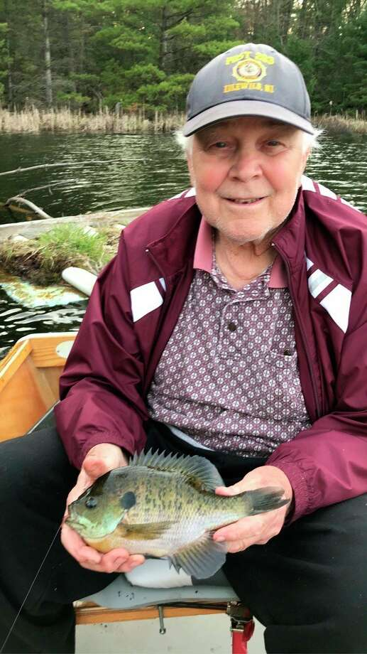 Baldwin's Jim Warren has been impressed with fishing success in Lake County. (Courtesy photo)