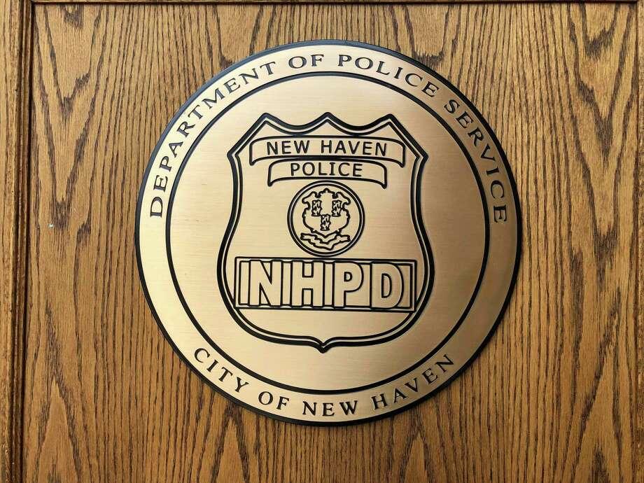 New Haven Police Department Seal Photo: Ben Lambert / Hearst Connecticut Media