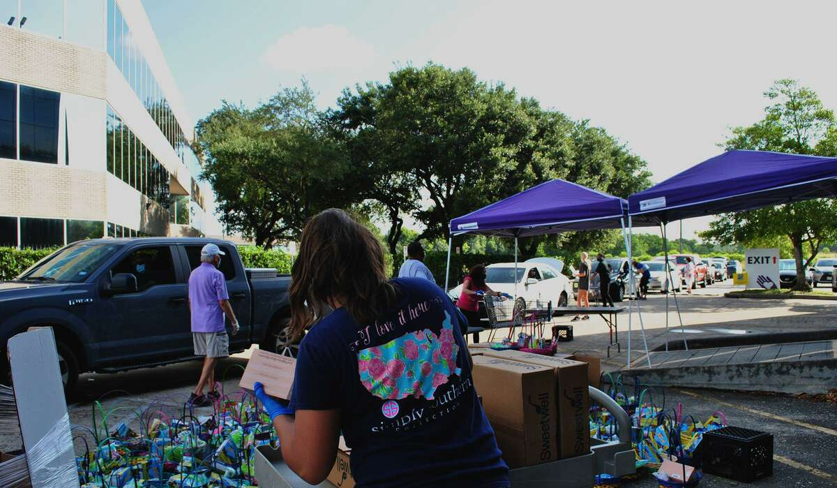 Northwest Assistance Ministries recently hosted a food fair on July 18 and continues to provide food for families throughout the week.