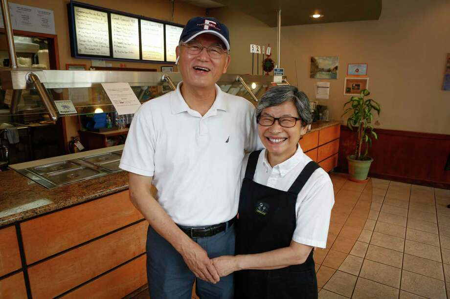 Pepper Tree owners Mike and Happy Tsai emigrated to the U.S. from Taiwan and needed to make a living. Happy said she wanted to venture into something that she had interest in and would be good at. Their restaurant has been serving vegan Asian cuisine in Upper Kirby for 16 years. Photo: Steve Gonzales, Houston Chronicle / Staff Photographer / © 2020 Houston Chronicle