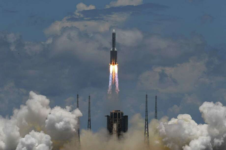 Wilton Library offers a program on the privatization of space on July 28. Photo: NOEL CELIS / AFP Via Getty Images / AFP or licensors